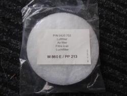 Vzduchový filtr Wagner pro řadu W867
